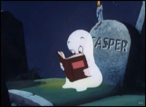 Halloween_Capser_ghost_reading_book_gif